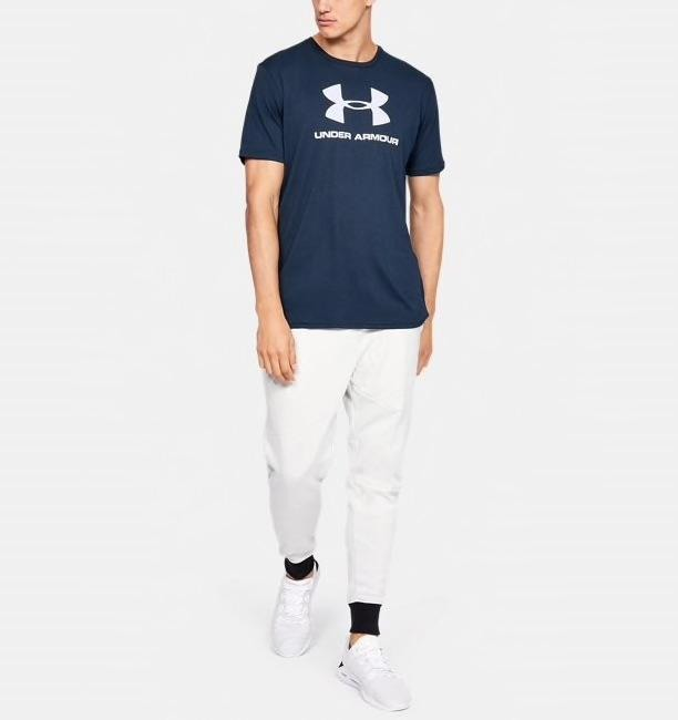 t-shirt-under-armour-sportstyle-logo-blu