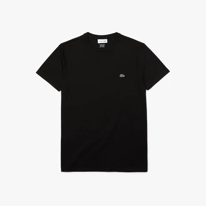t-shirt-a-girocollo-in-jersey-di-cotone-tinta-unita-nero