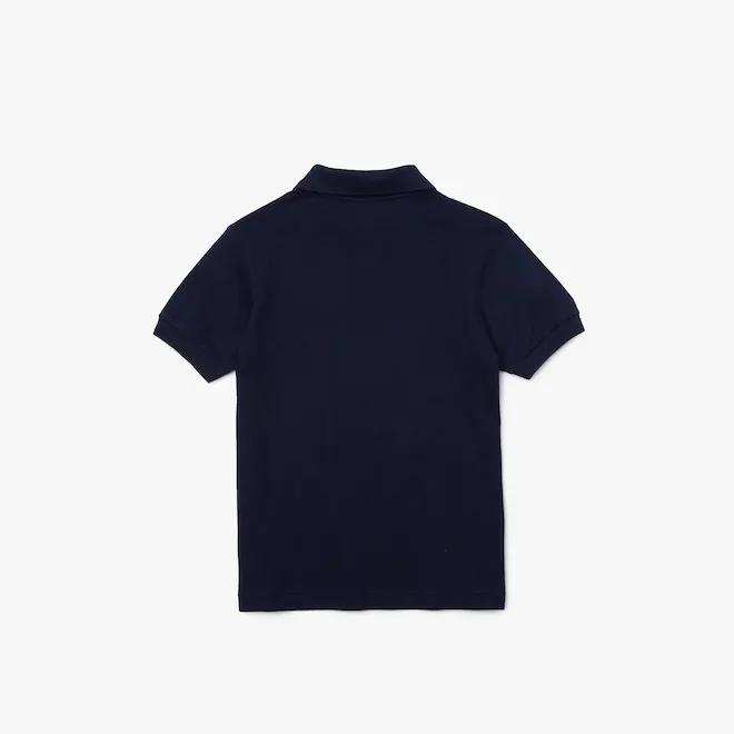 polo-regular-fit-kids-lacoste-tinta-unita-blu