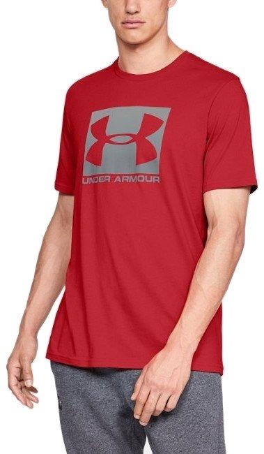 t-shirt-a-manica-corta-ua-boxed-sportstyle-da-uomo-rosso