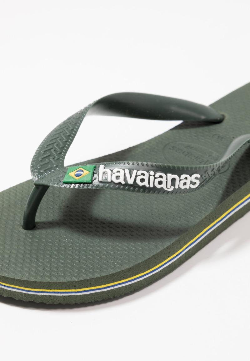 brasil-logo-infradito-da-bagno-colore-green-olive