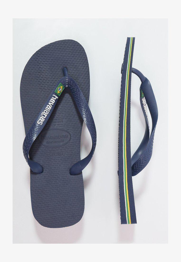 brasil-logo-infradito-da-bagno-colore-navy-blue