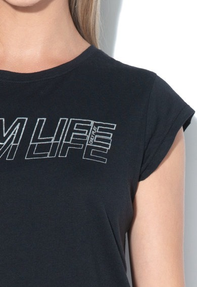 t-shirt-donna-only-play-colore-nero
