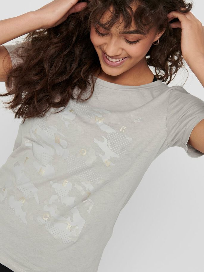 t-shirt-donna-only-play-col-grigio